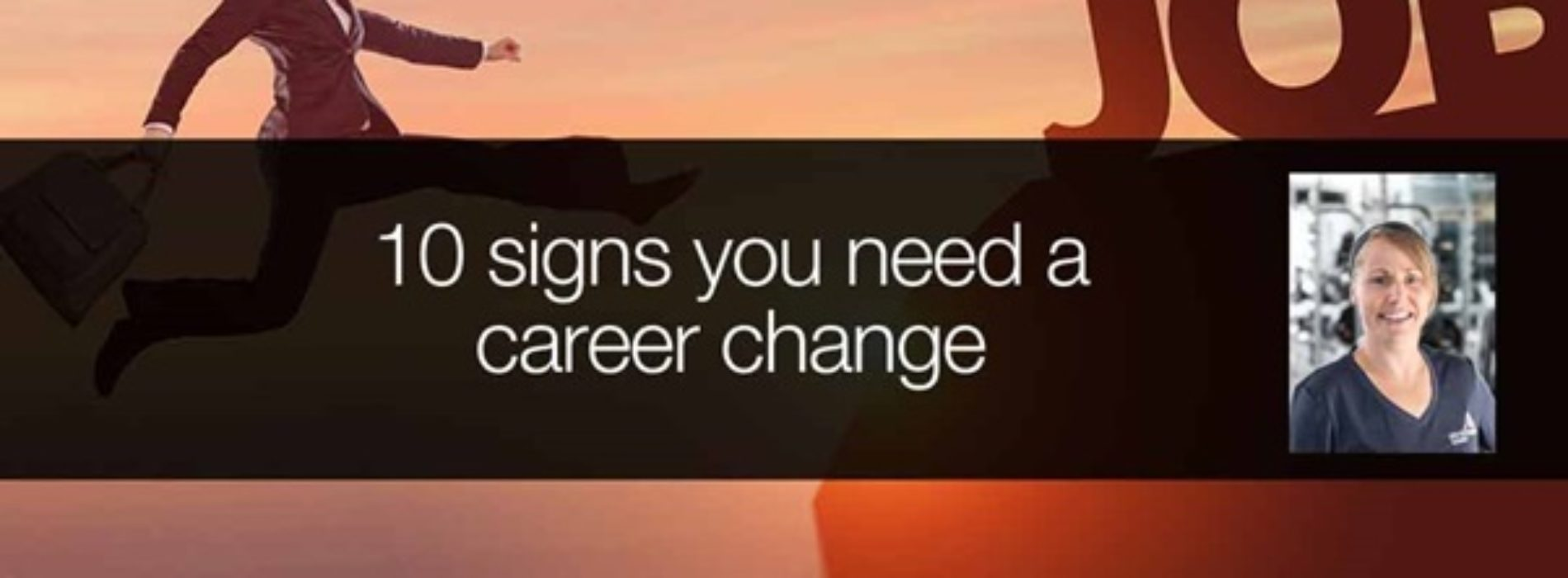 10 signs you need a career change