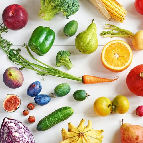 Want your customers to know the right weight of fresh vegetables?